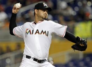 Stanton homers to helps Marlins beat Nationals 5-3