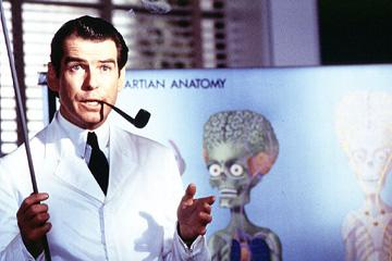 Pierce Brosnan in Warner Bros. Pictures' Mars Attacks