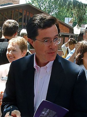 "Could Stephen Colbert be snagging a role in ""The Hobbit."""