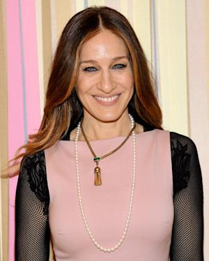 Actress and fashion designer Sarah Jessica Parker poses at the SJP Collection at Nordstrom pop up shop opening on Wednesday, Feb. 26, 2014 in New York. (Photo by Evan Agostini/Invision/AP)