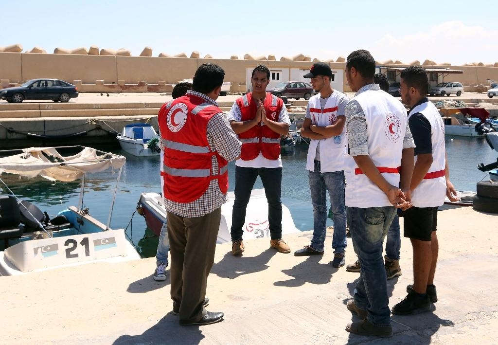 7 bodies wash up on Libya beach: Red Crescent