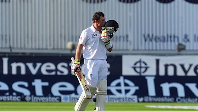 Ian Bell hit his third Ashes ton in four Tests this summer