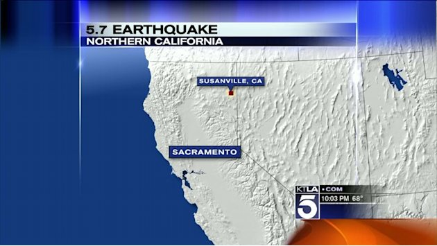 Powerful Earthquake Hits Northern California
