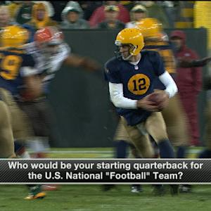 Which QB would lead the U.S. National 'Football' team?