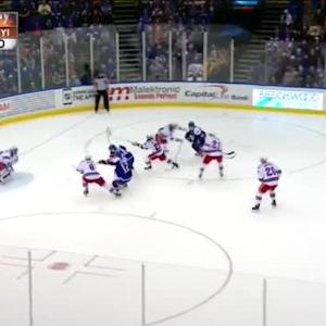 Henrik Lundqvist Save on Mikhail Grabovski (09:48/1st)
