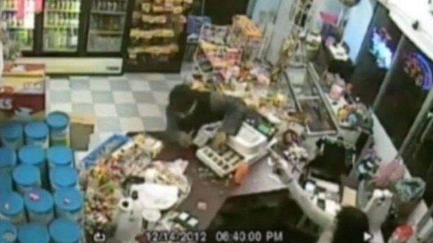 Grandma With Gun Halts Store Robbery (ABC News)