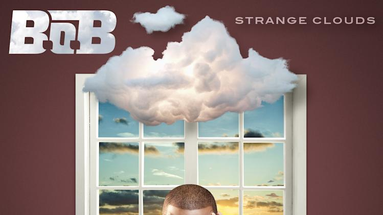 "In this CD cover image released by Grand Hustle/Atlantic Records, the latest release by B.o.B., """"Strange Clouds,"" is shown. (AP Photo/Grand Hustle/Atlantic Records)"
