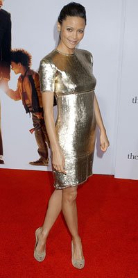 Thandie Newton at the Los Angeles premiere of Columbia Pictures' The Pursuit of Happyness