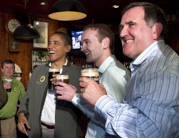 > Mar 17 - Obama surprises St. Patrick's Day revelers at D.C. bar - Photo posted in BX Daily Bugle - news and headlines | Sign in and leave a comment below!