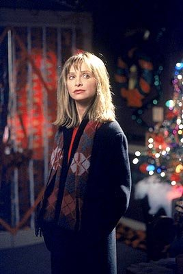 "Ally (Calista Flockhart) is trying her best to get Larry into the Christmas spirit on ""The Man With The Bag"" episode of Ally McBeal Ally McBeal"