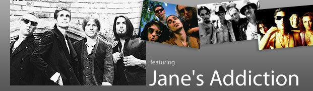 Then & Now - featuring Jane's Addiction