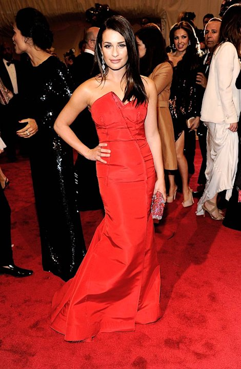 Lea Michele TheMET Gala
