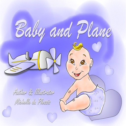 "BABE COMICS ""Baby And Plane"""