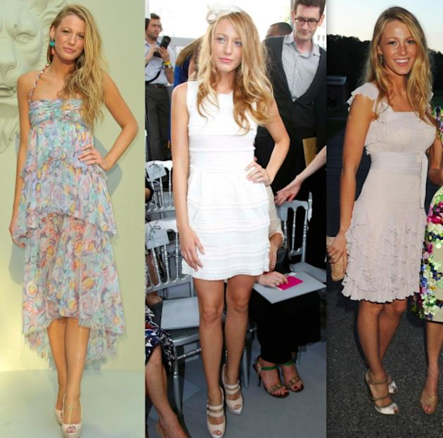 Blake Lively at Chanel, Christian Dior and the Valentino after-party