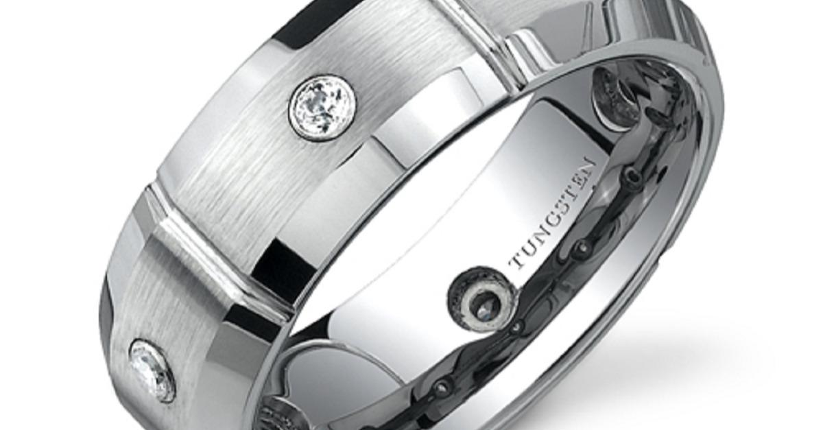 3 Day Sale! Tungsten Rings Under $50-Free Shipping