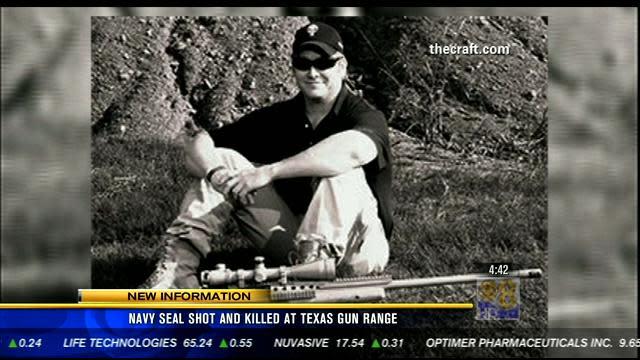 Navy SEAL shot and killed at Texas gun range