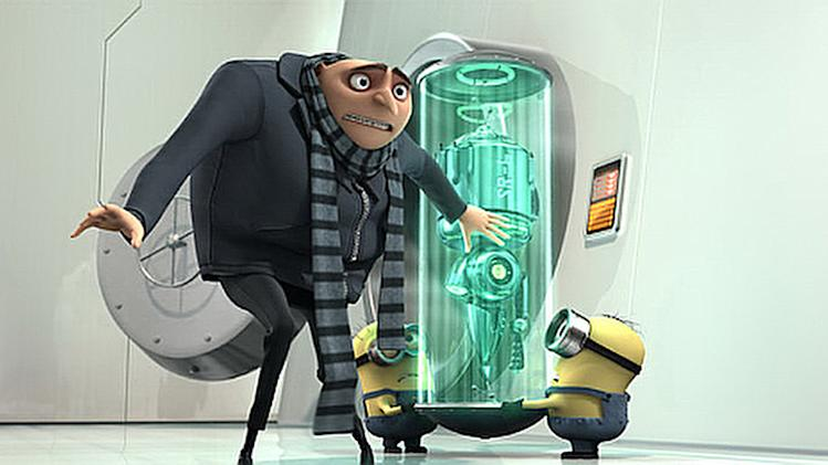 Despicable Me Production Photos 2010 Universal Pictures