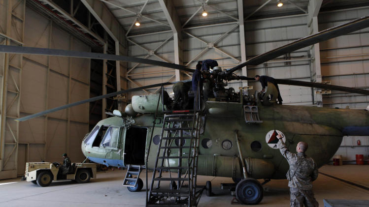 AP Exclusive: Accusations dog Russian copter deal