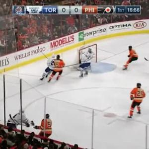 Michael Del Zotto Goal on James Reimer (04:05/1st)