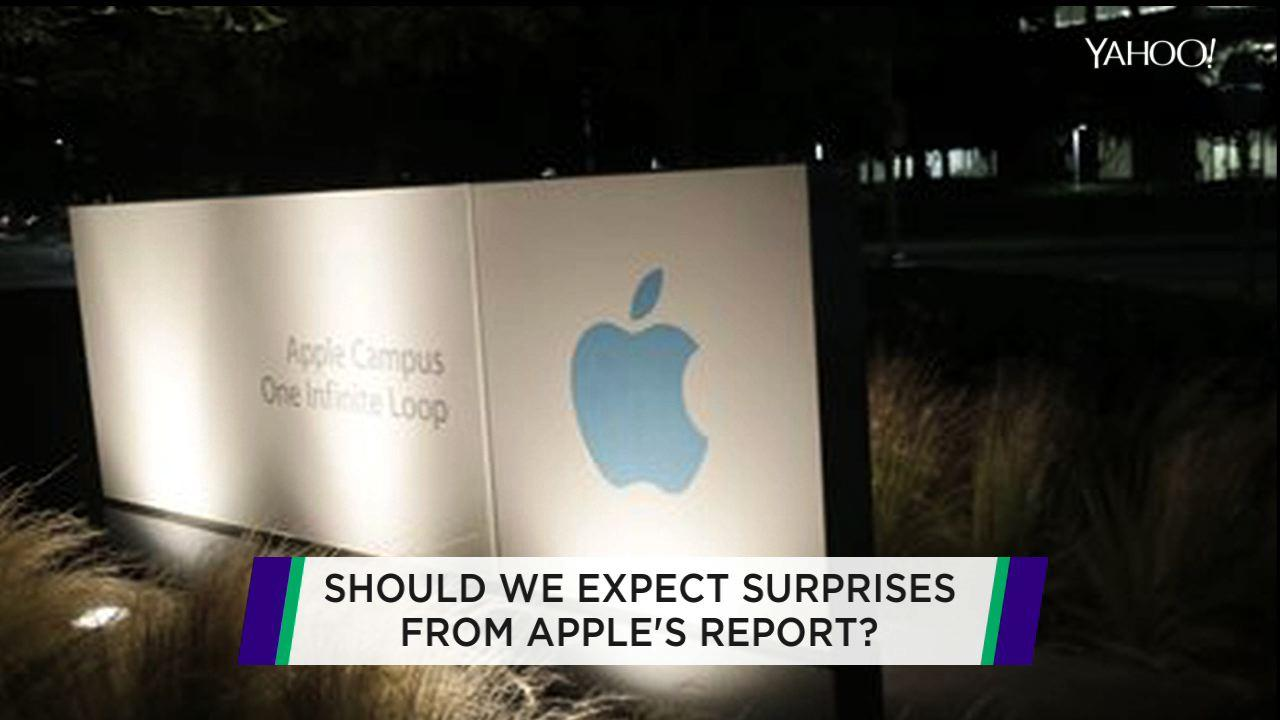Apple up ahead of earnings; Abercrombie drops sexy; Silicon Valley cyber security