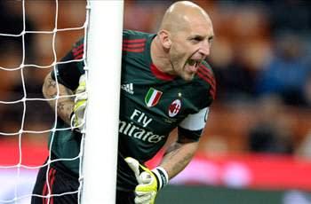 Galliani: AC Milan goalkeeper Abbiati's contract will be renewed