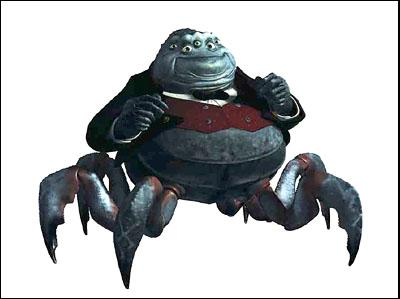 Waternoose ( James Coburn ) in Disney's Monsters, Inc.