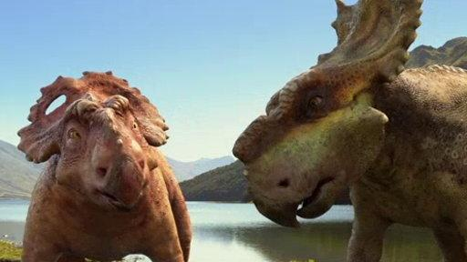Walking With Dinosaurs - Clip - Headbutting