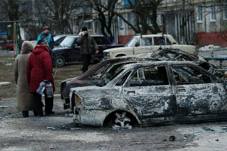 Ukrainian port city divided after deadly rocket attack