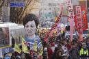 S. Koreans rally again, this time to celebrate impeachment