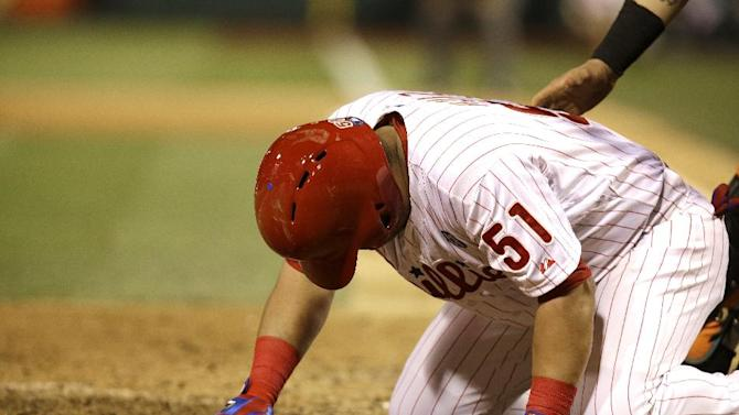 Phillies place Ruiz on 7-day DL