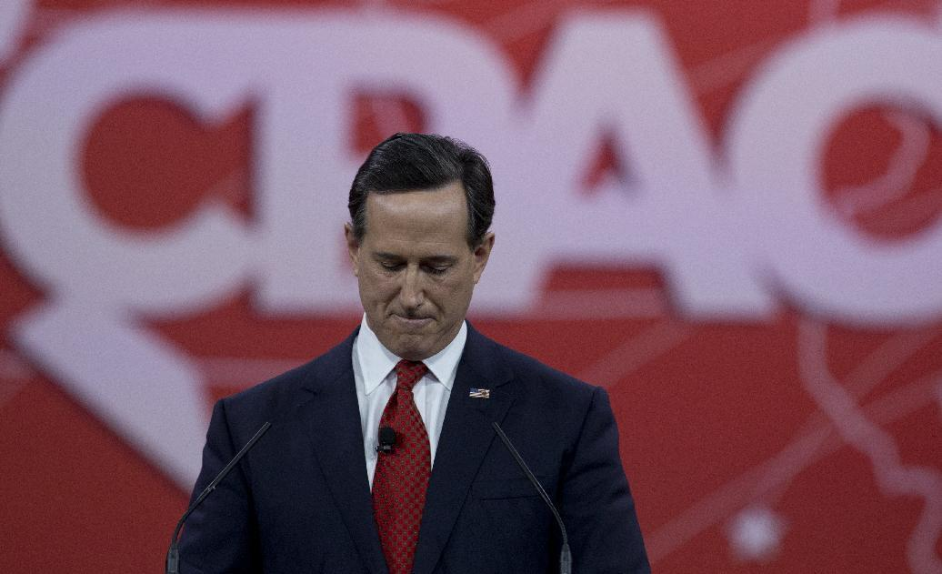 Santorum wants US ground troops to fight Islamic State group