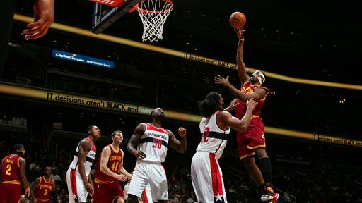 Irving's 26 leads Cavaliers over Wizards 87-84