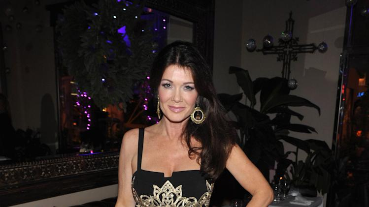 """IMAGE DISTRIBUTED FOR BRAVO - Lisa Vanderpump attends the premiere party for """"Vanderpump Rules"""" at SUR restaurant, on Monday, Dec. 10, 2012 in Los Angeles. The show premieres on January 7, 2013 on Bravo.  (Photo by John Shearer/Invision for Bravo/ AP Images)"""