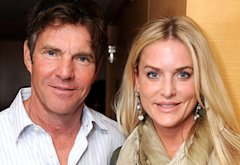 Dennis Quaid, Kimberly Buffingtom-Quaid | Photo Credits: Katy Winn/Getty Images