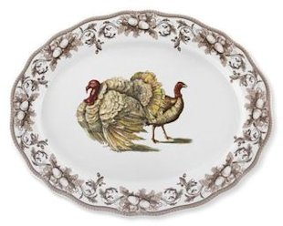 turkey platter porcelain