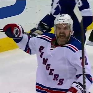 Dan Boyle ties it late in 3rd for Rangers