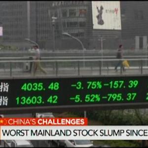 Chinese ADRs Slump the Most Since 2011
