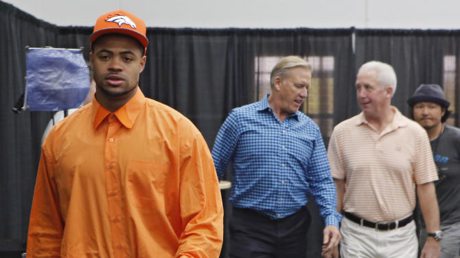 Cody Latimer didn't have to shop for new clothes