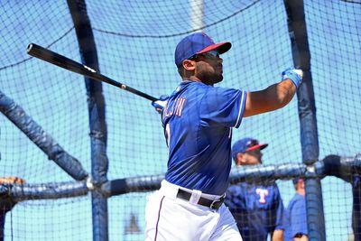 Russell Wilson is hitting batting practice homers with the Texas Rangers