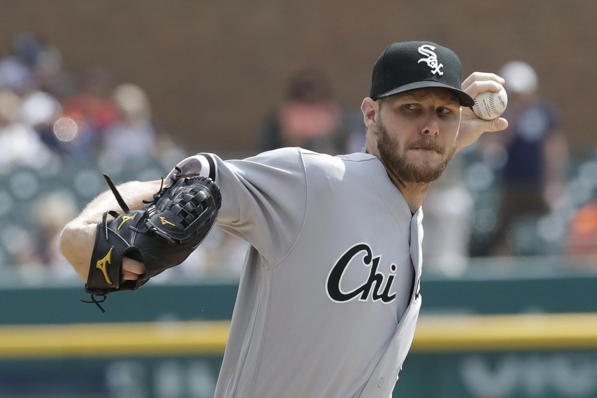 White Sox trade Chris Sale to Red Sox for Yoan Moncada, three others
