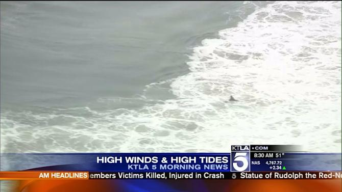 Unusual `King Tides` to Bring `Extreme` Surf to California Beaches