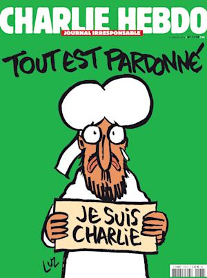 The frontpage of Charlie Hebdo's upcoming edition, …