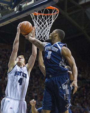 Georgetown triumphs over Butler 70-67 in overtime