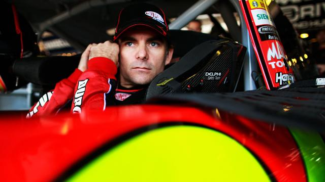 Jeff Gordon Ignites Racetrack Brawl
