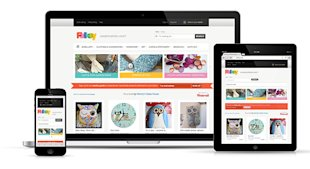 10 Awesome Examples of Ecommerce Sites Using Responsive Web Design image folksy rwd