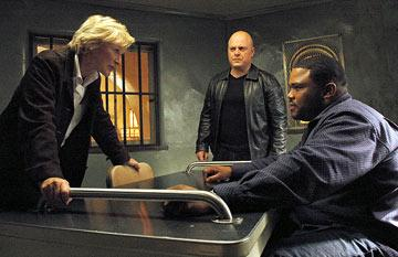 Glenn Close, Michael Chiklis and Anthony Anderson FX's The Shield