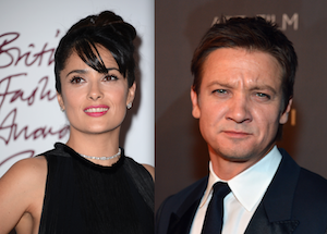 Salma Hayek, Jeremy Renner Named Honorary Co-Chairs of 2013 Independent Spirit Awards
