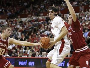 Diaz hits late FTs, Nebraska upsets No. 11 Indiana