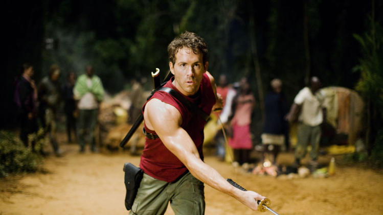 Ryan Reynolds X-Men Origins: Wolverine Production Stills 20th Century Fox 2009