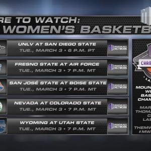Where to Watch MW Women's Basketball 3/3/15